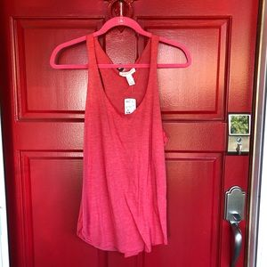 NWT Forever 21 Orange Soft Tank top
